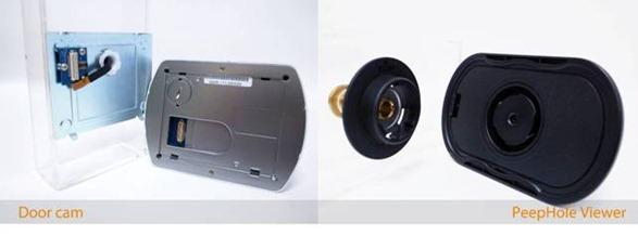 deur camera test de beste 2014 portier the digital door viewer. Black Bedroom Furniture Sets. Home Design Ideas