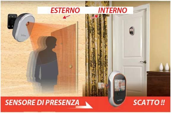 Porta di sicurezza prevenire il crimine nella propria casa for Spioncino brinno