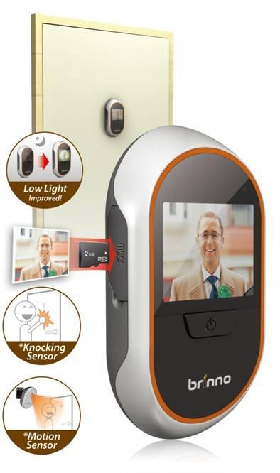 Comparazione tra spioncino digitale brinno e telecamera for Spioncino brinno