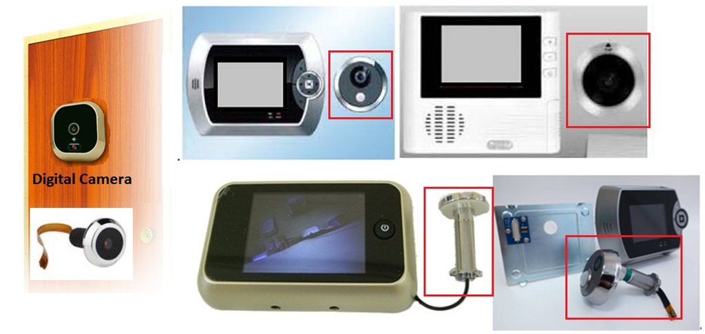 Brinno peephole camera door camera peephole viewer for Door viewer camera