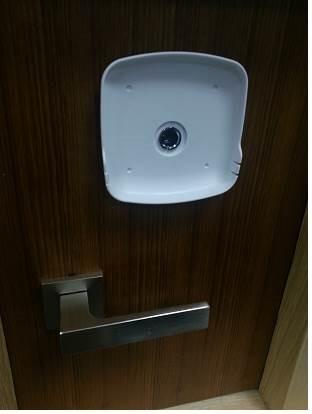 abus digitaler t rspion hd peephole viewer. Black Bedroom Furniture Sets. Home Design Ideas