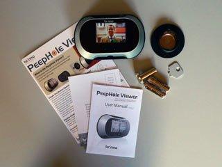 Promozione estiva spioncino digitale phv brinno peephole for Spioncino brinno