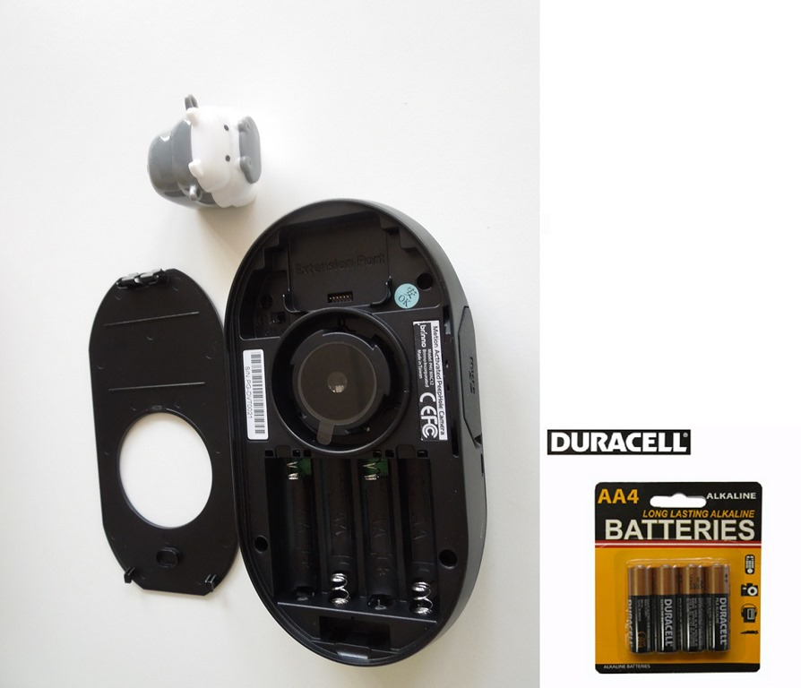 Hidden front door security camera peephole viewer for Front door video camera